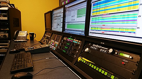 Quincy Broadcasting Master Control System Installation Broadcast