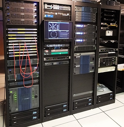 Server Room Integration Broadcast Video Systems