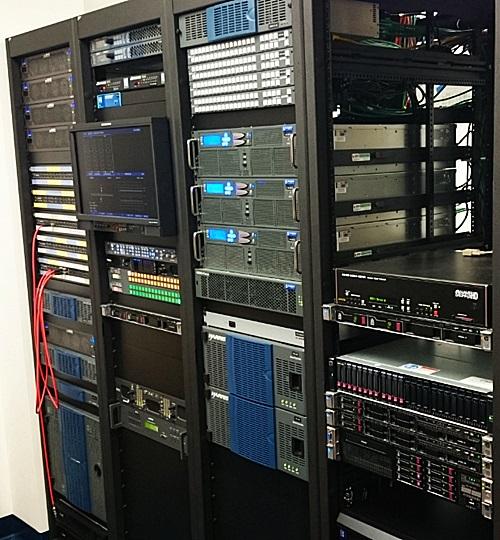 Broadcasting System Integrators Broadcasting Server Room