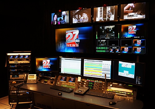 News Station Master Control Room Photo | Network Broadcast