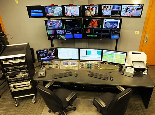 Waow Master Control Console Broadcast Video Equipment News