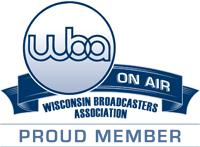 WBA on Air Wisconsin Broadcasters Association Proud Member