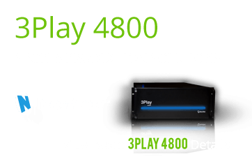 NewTek 3Play 4800 video production equipment