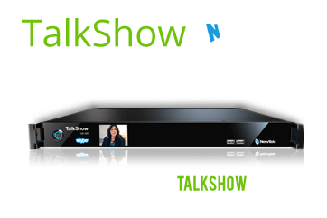 NewTek Talkshow Skype interview equipment