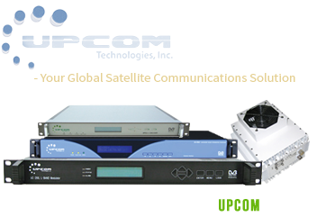 Upcom satellite communication equipment
